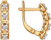 Золотые серьги SOKOLOV 026493_s