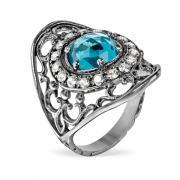 Серебряное кольцо Yaffo с фианитом SAR1294