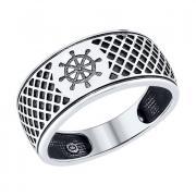 Мужское кольцо Штурвал 2 3 2 арт. 95010094