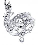 Серебряное кольцо SOKOLOV с фианитом 94013173