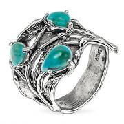 Серебряное кольцо Yaffo с бирюзой SAR1671