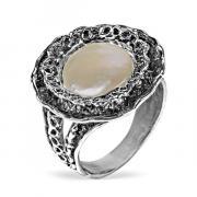 Серебряное кольцо Yaffo с жемчугом SAR1305