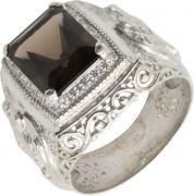 Серебряные кольца Маршал KM-141/2-rauh-topaz