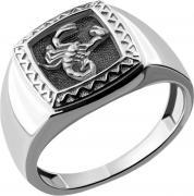 Серебряные кольца Aquamarine 54683-S-a