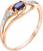 Золотые кольца Vesna jewelry 1557-151-03-00
