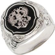 Серебряные кольца Маршал KM-273/1-fianit