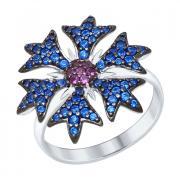 Серебряное кольцо SOKOLOV с фианитами 94012329