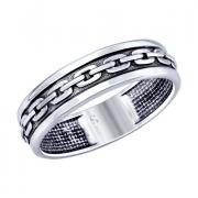 Мужское кольцо из серебра 2 3 9 арт. 95010119
