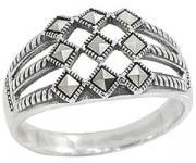 Серебряные кольца Марказит HR1004-mr