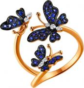 Золотые кольца SOKOLOV 2011024_s