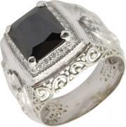 Серебряные кольца Маршал KM-141/2-fianit