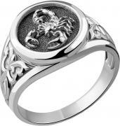 Серебряные кольца Aquamarine 54678-S-a