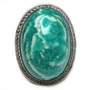 Кольцо с амазонитом 1532-nr
