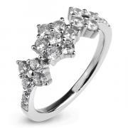 Серебряное кольцо Sandara Ice с фианитом XCR183