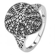 Серебряное кольцо ALEXANDRE VASSILIEV с марказитами Swarovski TJR420