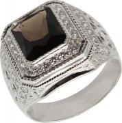 Серебряные кольца Маршал KM-91/2-rauh-topaz