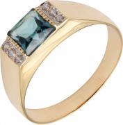 Золотые кольца Маршал KM-131-london-topaz