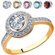 Золотые кольца SOKOLOV 81010403_s