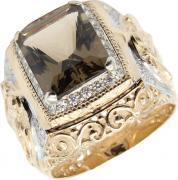 Золотые кольца Маршал KM-141/2-z-rauh-topaz