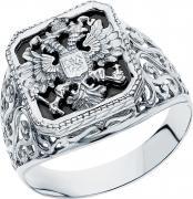 Серебряные кольца Маршал KM-46/14-fianit