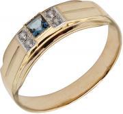Золотые кольца Маршал KM-68-london-topaz