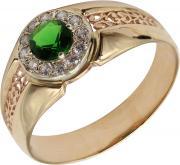 Золотые кольца Маршал KM-195-zelenyj-fianit