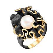 Серебряное кольцо De Fleur с жемчугом 51238Y1B