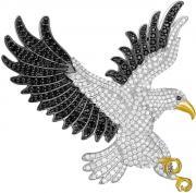 Серебряные броши POKROVSKY 2700044-00215