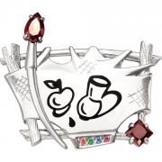 Серебряные броши Kabarovsky 5-005-8102