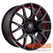 Колесный диск MKW TF-MX, 8x17/5x114.3, D73.1, ET40, AM B RED