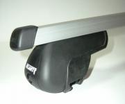 Багажник Атлант (на рейлинги), прямоугольная дуга для Hyundai Creta 2016