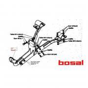 Фаркопы Bosal Фаркоп (ТСУ) на GAZ Газель Next (бортовая),не подходит удлиненной базы 1997 - г.в. Bosal (Арт. 5608-A)