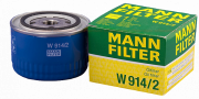 Фильтр масл. Mann W914/2 Ваз 2108-10 (низкий)