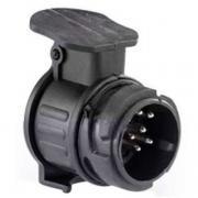Розетки для фаркопов Адаптер с 13-ти контактной розетки для фаркопа на 7-ми pin вилку (мини) Bosal (Арт. 022-504)