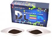 Дополнительная фара DLED DRL Tiger Eye - CREE 10W Black Chrome