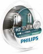 H7 X-treme Vision +130% 12V 55W Лампа в блистере 2шт