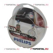 PHILIPS Лампа галогенная H1 12В 55 Вт P14,5s Vision Plus Philips+50% (2 шт.)