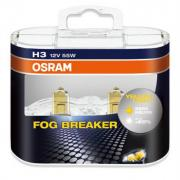 Автомобильная лампа H3 55W Fog Breaker 2 шт. OSRAM