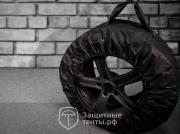 Чехлы-ленты для хранения шин, ЭКОНОМ, 4шт, для Volkswagen Polo hatchback