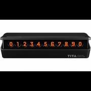 Временная карта парковки Xiaomi TITA Temporary Parcing Card Bcase Tblack Black