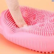 Мочалка-губка силиконовая для тела Bubbles Bath Brush 4/1