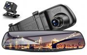 Зеркало видеорегистратор с камерой заднего вида Elite in your car Full HD