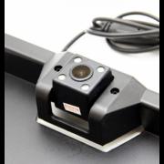 Камера заднего вида в рамке номерного знака ENC ЕС-158В (Черный)