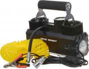 Автомобильный компрессор Nova Bright, 47160, двухпоршневой, до 65 л/мин, 140 PSI, 12В, LED-фонарь