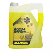Антифриз Advanced Ag13 Желтый (-40°c) (Готовый Раствор) 5 L MANNOL арт. 2067
