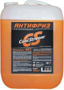 Антифриз CoolStream Premium 40, CS-010103, оранжевый, 10 кг