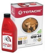 TOTACHI NIRO LV Semi-Synthetic 10W-40 4л + NIRO Brake Fluid DOT-4 0.5л (Масло+Тормозная жидкость)