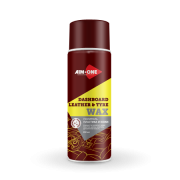 Полироль пластика и кожи Dashboard leather and tyre wax, 0.45 л, AIM-ONE, DL250