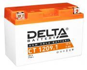 Аккумулятор Delta MOTO CT 1209.1 (YT9B-BS) 149x70x105