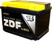 Автомобильный аккумулятор ZDF Premium 60 Ач (прямая)
